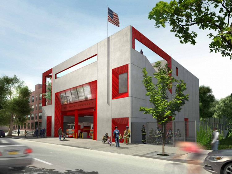 NY Fire Department Training Facility - 1815 Sterling Place, Brooklyn, NY